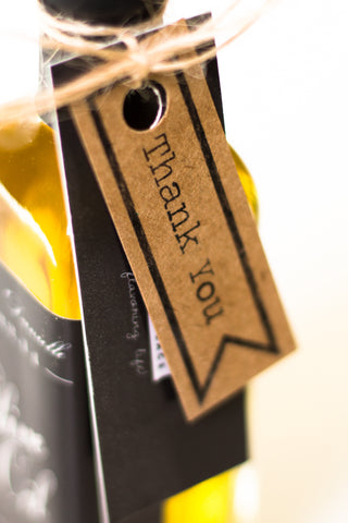 Olive Oil Thank You Tags