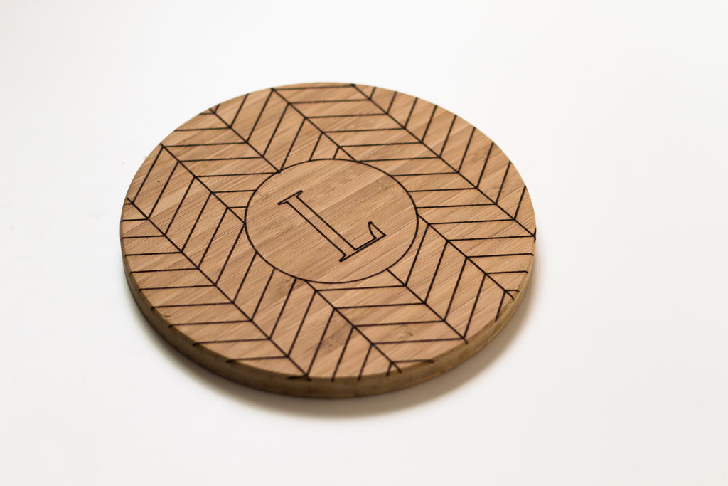 Mini Round - Herringbone