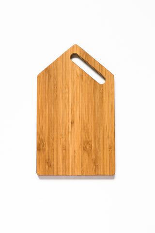 Side-Handle Rectangle - Bamboo
