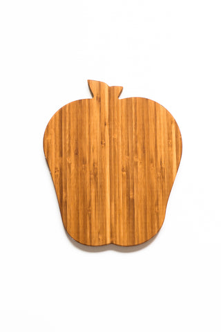 Apple Cutting Board - Bamboo