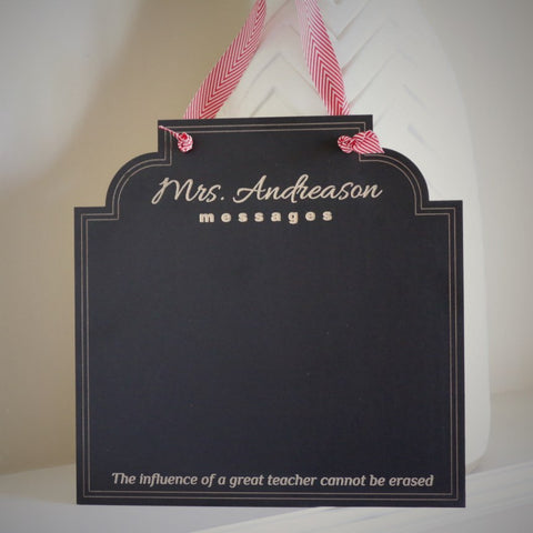 Teacher Message Board - The impact of a great teacher cannot be erased!