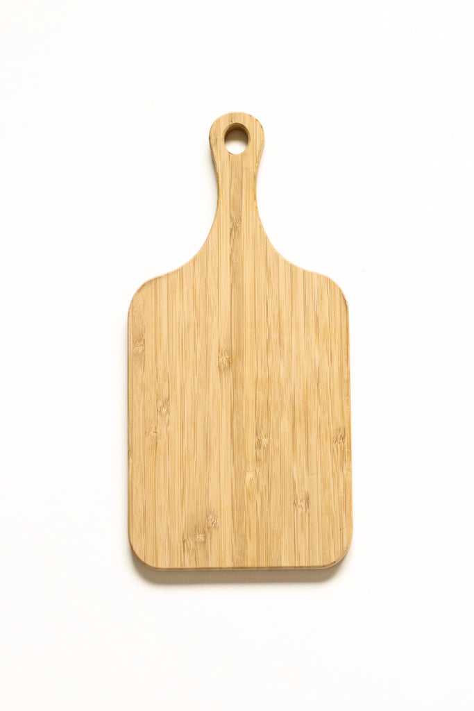 Mini Rectangle Paddle - Bamboo