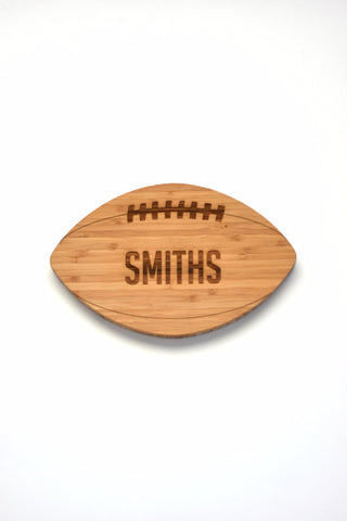 Football Shaped - Personalized