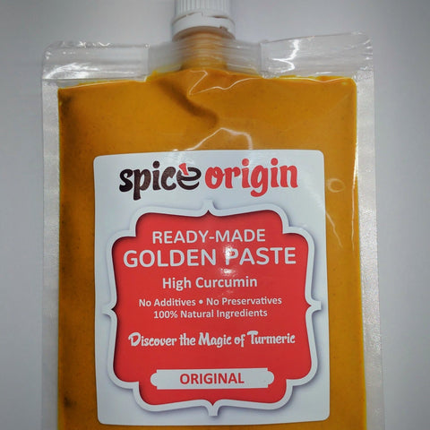 Natural Golden Paste - Ready Made (4.7% Curcumin)
