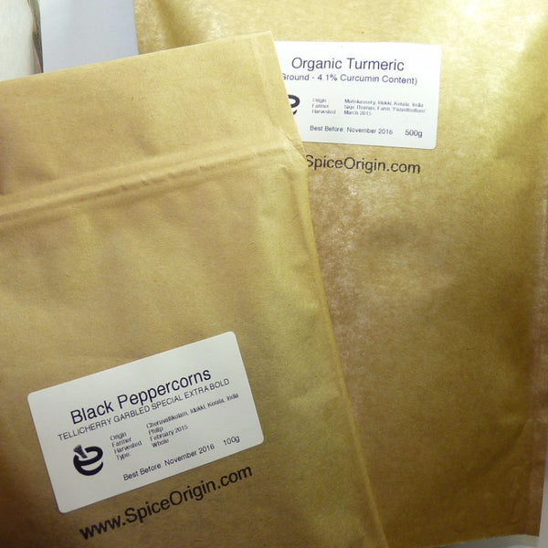 *NEW* Turmeric (4.65% Curcumin) & Premium Pepper Bundle (2020 Harvest)