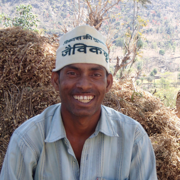 Ratan Lal Dagacha. Organic Farmer and supplier to Spice Origin for Organic Brown Mustard Seeds.