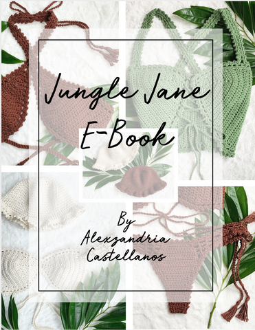 LostCulture E-Book Vol. 2 - Jungle Jane / Size Small Top & Small Bottom