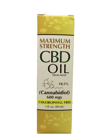 Maximum Strength CBD Oil
