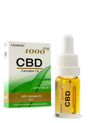 CANABIDOL™ CANNABIS CBD OIL DROPS – 1000mg