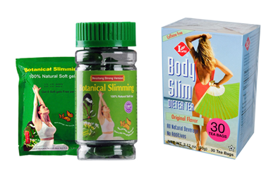 Botanical Slimming + FREE Body Slim Tea