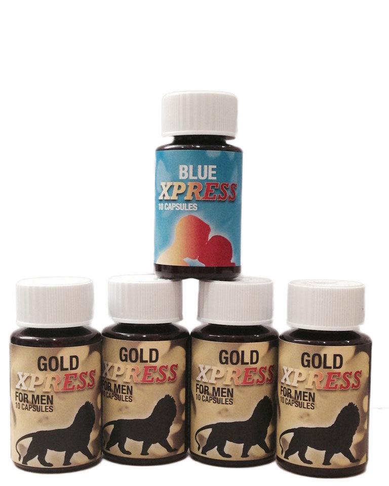 Buy 4 GOLD Express and get 1 Blue Express FREE