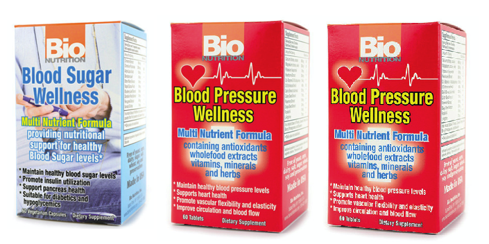 Buy 2 Blood Pressure Wellness and get 1 Blood Sugar Wellness FREE