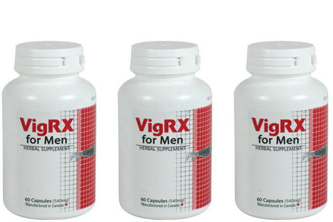 VigRX - Discounted price! (3 for 2) (60 capsules)