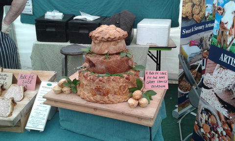 Pork Pie Cake Exeter food and drink festival 2015