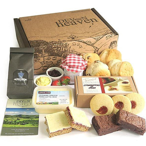 Afternoon Tea Delivery For Virtual Team Meetings