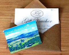 Afternoon Tea Gift Vouchers Devon