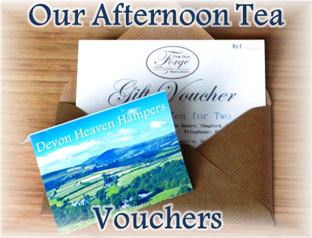 Afternoon Tea Vouchers in Devon