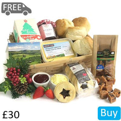 Christmas Afternoon Tea Hamper