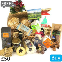 Christmas Food Hamper From Devon