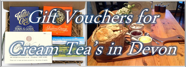 Cream Tea Vouchers