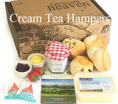 Cream and Afternoon Tea Hampers