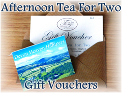 Christmas Afternoon Tea Vouchers in Devon