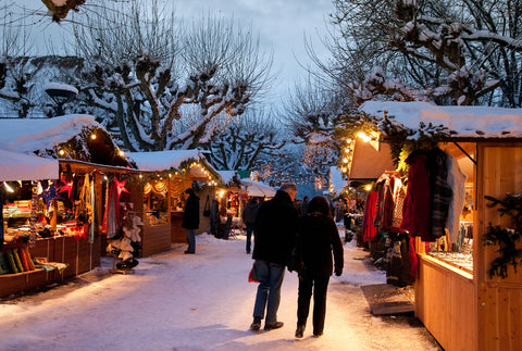 Christmas markets in Devon 2015