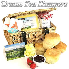 Cream and Afternoon Tea Hampers and Gifts
