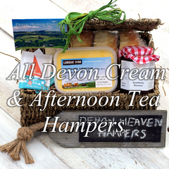 Devon Cream & Afternoon Tea Hampers