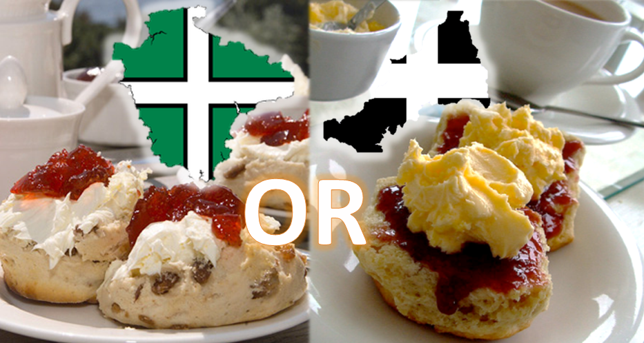 Devon vs Cornwall Cream Tea Differences