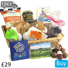 Gourmet Devon Food Gift Basket