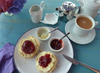 Lavendar Cream Tea North Devon