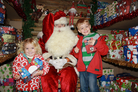 Meet father christmas in devon 2015