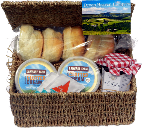 Summertime cream tea hamper