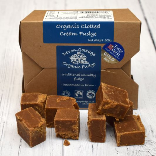 Devon Organic Clotted Cream Fudge Gift Box