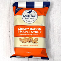 Crispy Bacon & Maple Syrup Popcorn