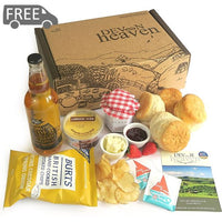 Fathers Day Cream Tea Hamper With Cider