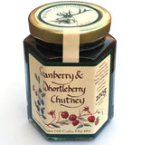 Cranberry and Whortleberry Christmas Chutney