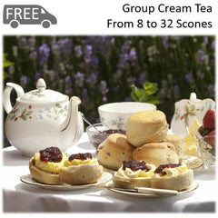 Group Cream Tea (4 - 32 People)