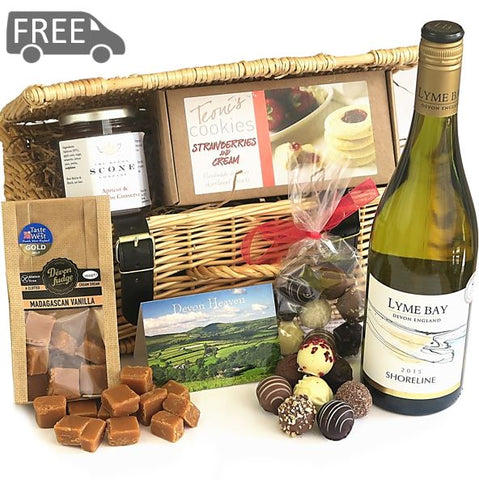 Devon Wine and Truffles Hamper