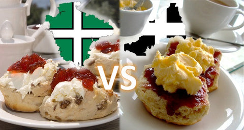 Devon vs Cornish Cream Tea by Post