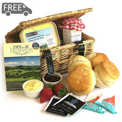 Devon Cream Tea Hamper - Large Cream