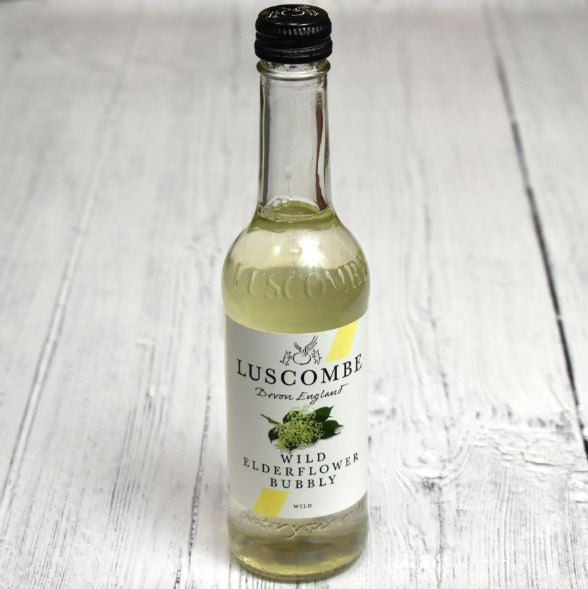 Luscombe Sparkling Elderflower Bubbly (non-alcoholic)