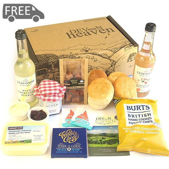 Picnic Cream Tea Hamper