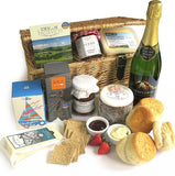Cheese & Sparkling Wine Cream Tea Hamper