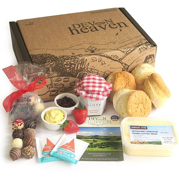 Truffle Cream Tea Hamper By Post