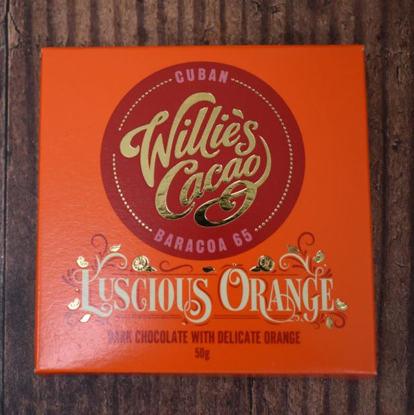 Willies Cacao Dark Chocolate and Orange