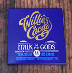 Willies Cacao Milk Chocolate Bar