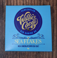 Willies Cacao Sea Salt Chocolate Bar
