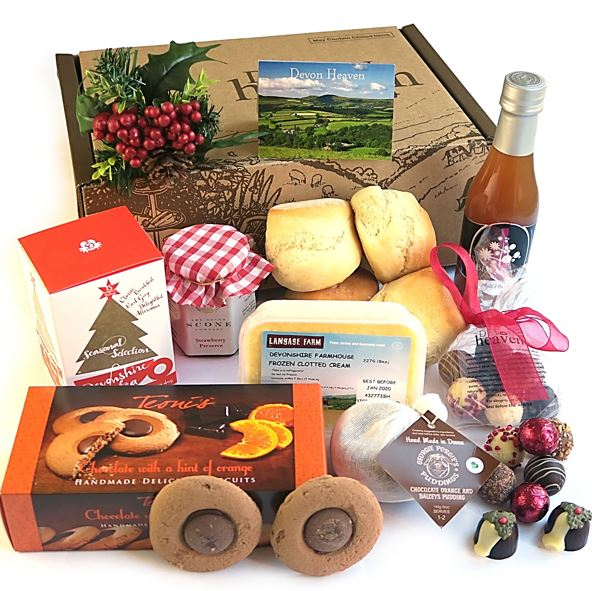 Christmas Afternoon Tea Gift Box